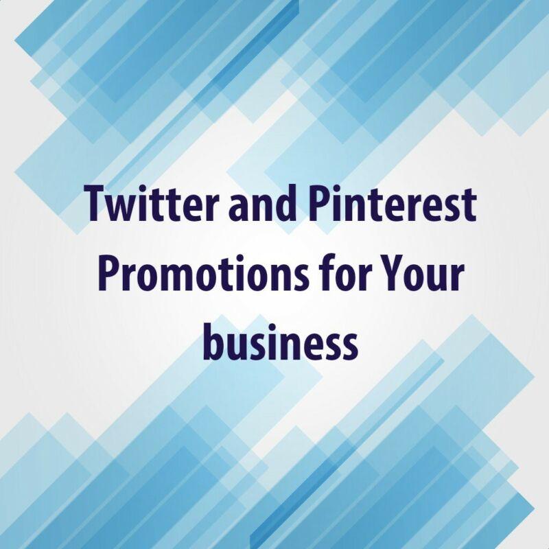 PROMOTE business / website traffic marketing 10 TWEETS & PINS social media