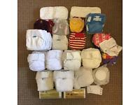 Cloth nappies size 1 / small, Little Lamb, Tots Bots, Bumgenius