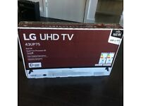 LG 4K UHD Smart TV UP75 43UP75006LF 43 Inch 2160p