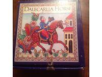 DALECARLIA HORSE IN CRYSTAL BY LINDSHAMMER OF SWEDEN - NUMBER 2895