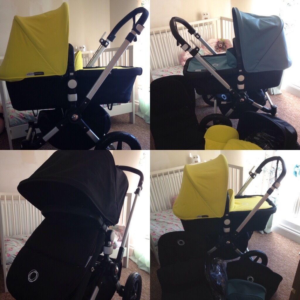 Bugaboo cameleon 3 superb with colour packs