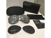 Porsch Design Inspired Aviator Sunglasses *NEW*