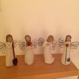 Willow Tree Angels x 4
