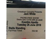 Jack White Standing Tickets - 26th June
