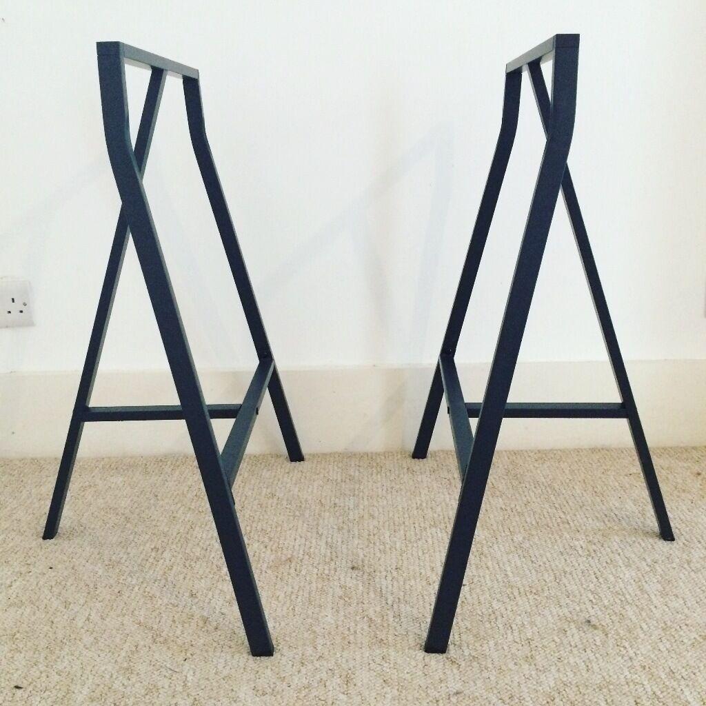 Ikea Lerberg Trestle Table Desk Legs In Brighton East