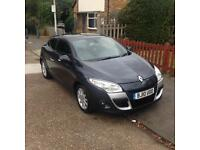 Renault megane coupe automatic with built in tom tom