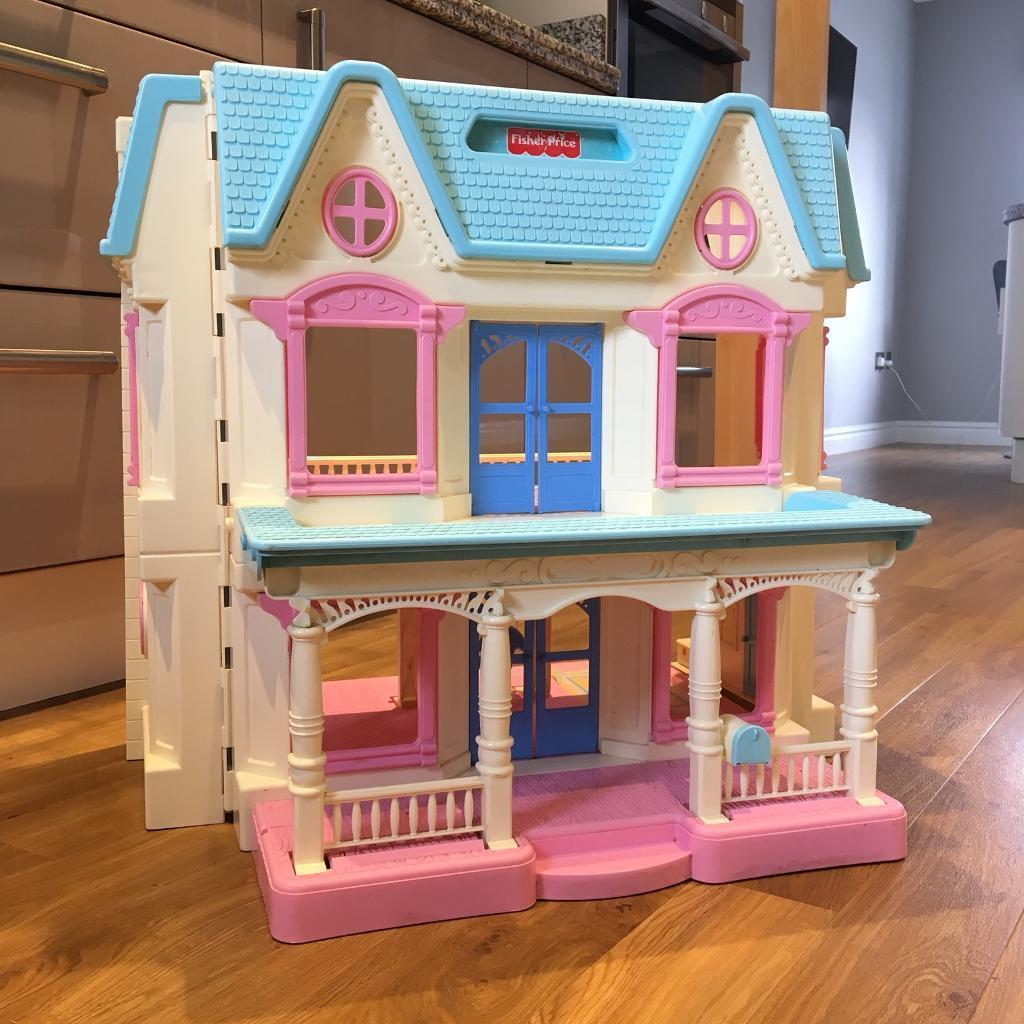 Fisher Price Dream Dolls House Car Accessories In Drayton