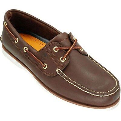 Classic 2 Eye Boat Shoe (TIMBERLAND SCHUHE 74035 CLASSIC 2-EYE BOAT SHOE  )