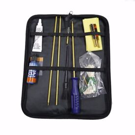 Beretta Field Pouch Rifle Cleaning Kit .22 / 223 Gun Oil Shooting Grease CK161A