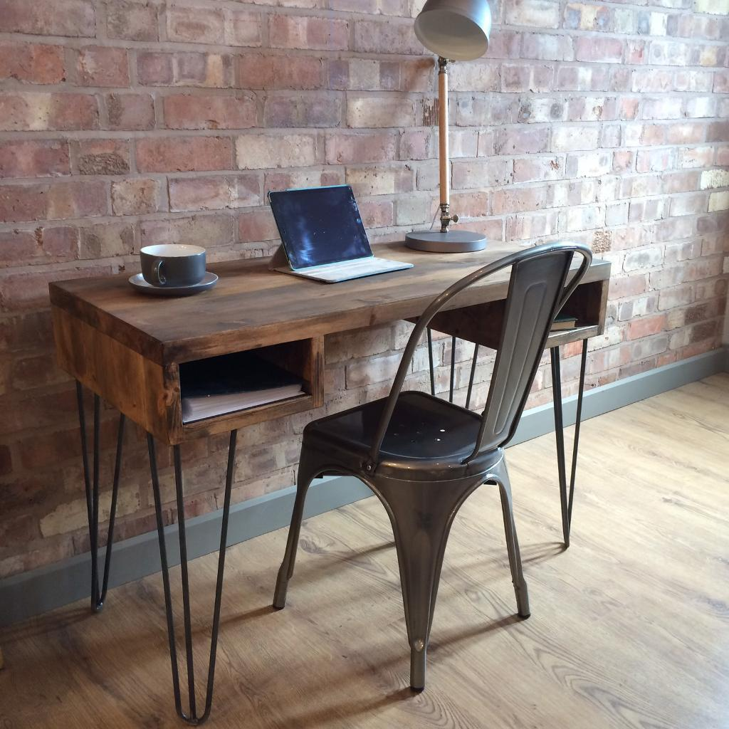 New Rustic Industrial Style Vintage Retro fice Desk
