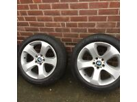 BMW X5 alloys x4