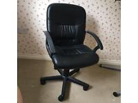 IKEA Moses black office chair