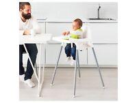 Ikea high chair baby feeding