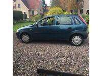 Vauxhall corsa 1.2 petrol 5 door