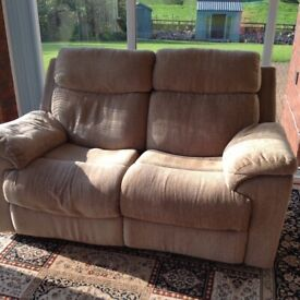 Two seater recliner sofa,reclining chair