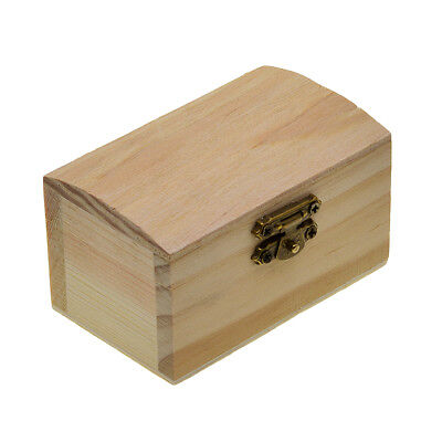 Wooden Natural Wood Box Jewelry Box for Kids Toys DIY Wood Crafts - Wood Crafts For Kids