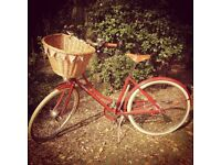 Immaculate ladies Pashley bicycle Brittania red