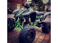 Suzuki LTZ 440 Road Legal Quadbike (raptor banshee atv off-road yz cr rm kx)