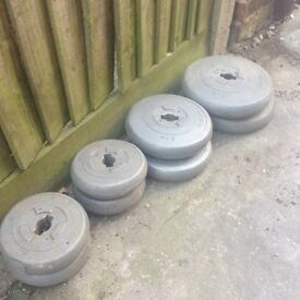 FREE selection of Weight Plates and One Bar