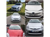 PCO CARS RENT/HIRE TOYOTA PRIUS £220 P/W INCLUDED INSURANCE