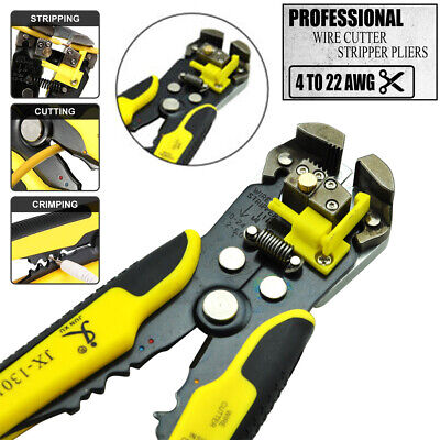 Electrical Cable Crimper Automatic Self-adjustable Wire Cutter Terminal Tool