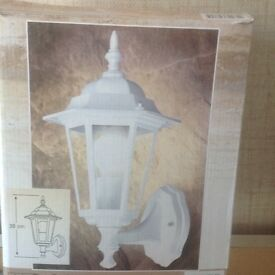 Outside light for home or caravan. New in box.