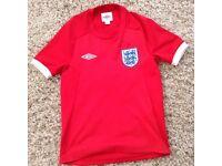 Umbro England football shirt for sale girls/boys