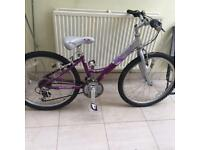 Girls bicycle for sale - suitable for age 5-10yrs for sale £50