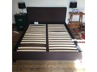 King size grey bed frame. Bishopston
