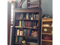 Dark Mahogany Bookshelf