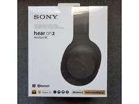 Sony Headphones WH-H900 h.ear Wireless Over-Ear Noise Cancelling with Gesture control - NEW