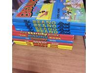 Beano and Dandy comics annual book