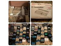 Large commodore amiga bundle boxed 500,c64,printer,and extras offers please