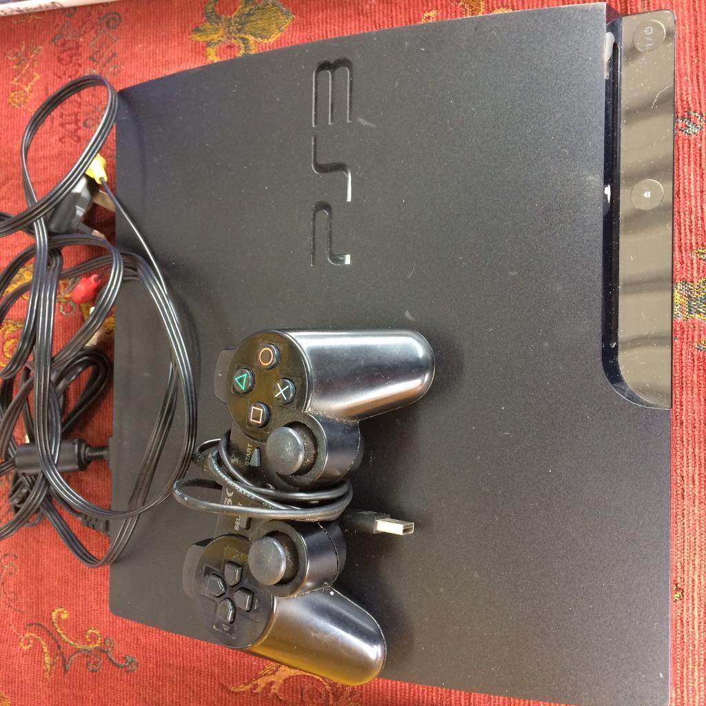 For Sale Sony PlayStation3 Jetblack Slim