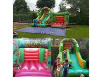 Bouncy castles & Chocolate fountains