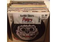 62. 7inch Vinyls from 1990s & 2000s Promo, Jukebox, white label and Picture discs.