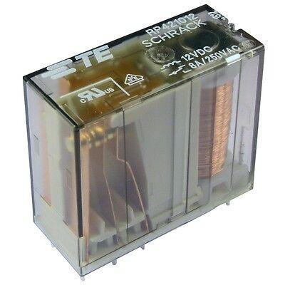 Print-Relais 2x Wechsler 24 VDC 250VAC//8A 1440 Ohm von TE Connectivity Schrack