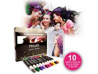 Hair Chalk Gift Set, Perfect Temporary Hair Colour for All ages, 50% off plus Free Ebook