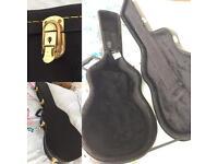 Les Paul shaped guitar case