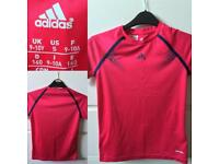 Girls Adidas tshirt 9-10yrs