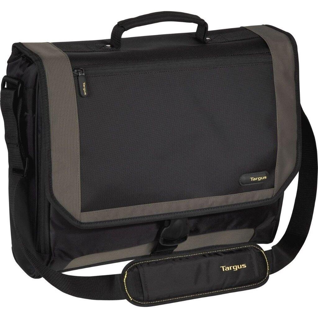 Sold 15 Targus Metro 17 Inch Laptop Messenger Bag Black