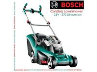 BRAND NEW BOSCH CORDLESS LAWNMOWER li 37 36v Bare Unit £349.99 REMOTE CUTTING GRASS FIELDS ALLOTMENT
