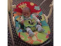 Baby bath/ Moses basket & swing