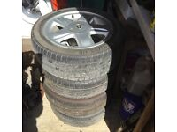 Alloy Wheels and Tyres for Renault Clio