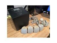 Labtec subwoofer system + speakers