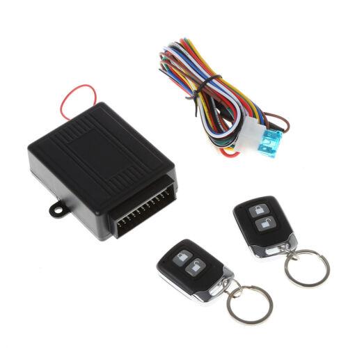 Car Alarm System Auto Remote Central lock Kit Door Lock Keyless Entry System