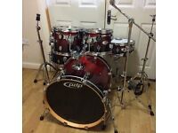 Fully Refurbished PDP M5 (Maple) Drum Kit (DW) // Free Local Delivery