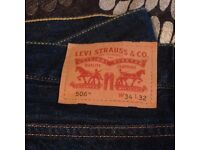 USED - Levi's 506 (W34 L32) and Levi's 527 (W34 L30)