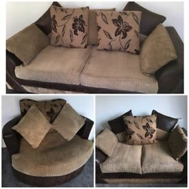 Sofa set and cuddle chair