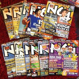 N64 NGC and other Nintendo mags bundle